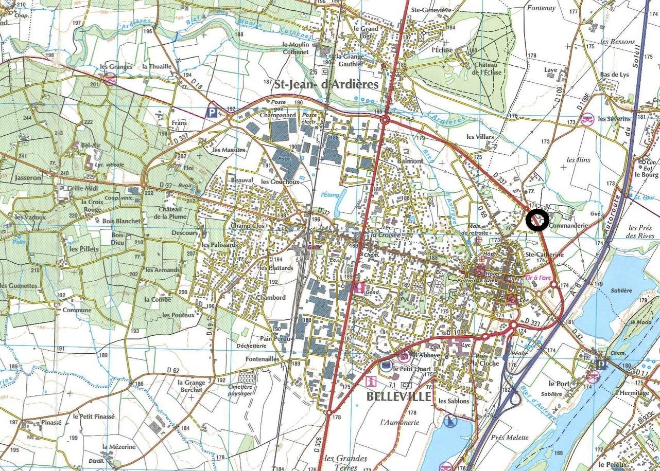 Carte de belleville sur saone my blog - Piscine de villefranche sur saone ...